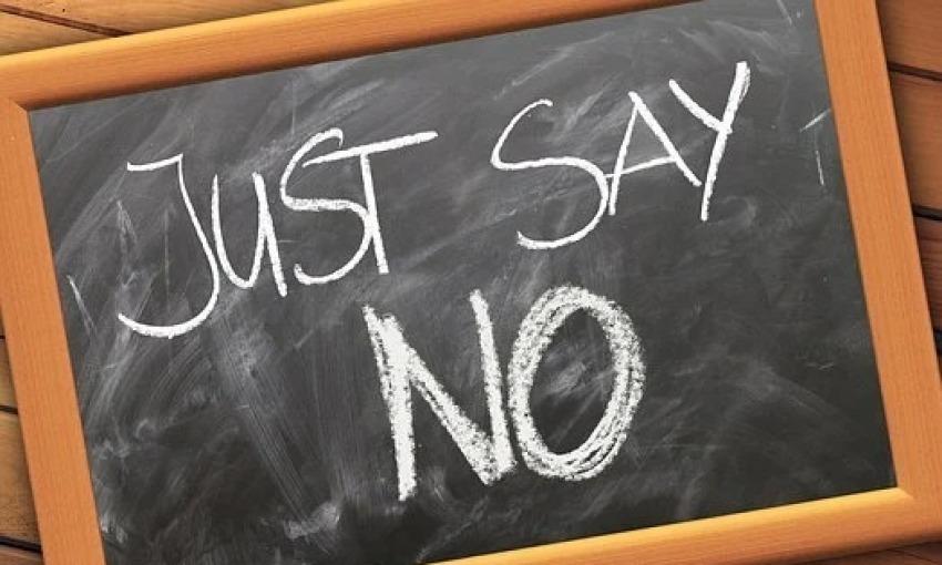 Come dire di no e resistere alla tentazione